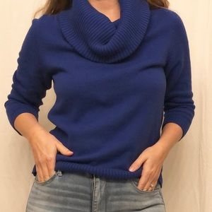 Gap Cowl Neck 3/4 Sleeve Sweater
